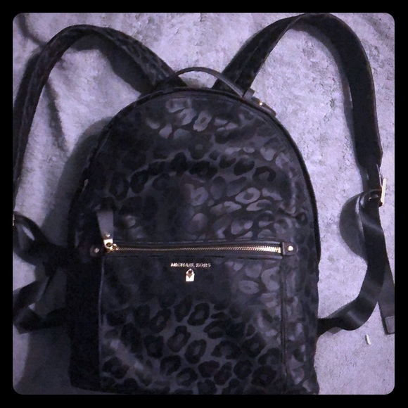4aac91a17129 ... usa nwot michael kors large kelsey leopard backpack 9e905 99921